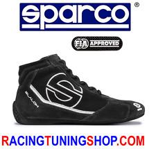 SCARPE SPARCO OMOLOGATE FIA SLALOM RB3 TG 42 - RACING SHOES FIA BOOTS  42 BLACK