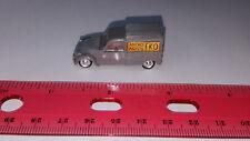 EKO 1:88 HO Scale CITROEN 2 CV - Gray Plastic Delivery Truck - Made in Spain