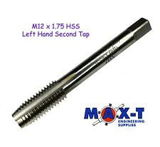 M12 x 1.75 HSS Left Hand Second Tap