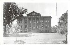 B18/ Lemars Iowa Ia Real Photo RPPC Postcard c1950 County Court House
