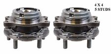 Front Wheel Hub Bearing Assembly Fit INFINITI G35 (AWD) 2007-2008 (PAIR)