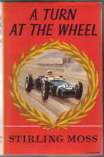Turn at the Wheel by Stirling Moss 1957-60 Hawthorn Brabham BRM Lotus Cooper +