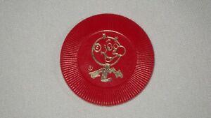 Vintage Reddy Kilowatt 1 Red Poker Chip 1950's  Electric Co. Promo