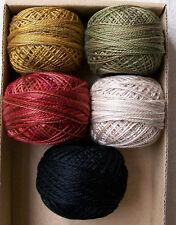 Valdani Perle Cotton size 12 Bertie's Autumn by Bonnie Sullivan