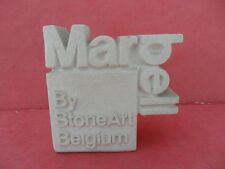 Ceramic Advertising Display Sign/Plaque - MARBELL by StoneArt Belgium