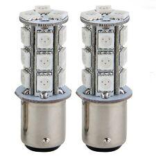 2x1157 SMD 5050 18 LED Car Brake Tail Rear Signal Stop Light Lamp Bulb Red H8I9