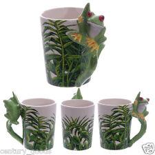 Tree Frog Mug Shaped Handle