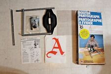 Vermont American 850 Router Pantograph Kit USA with Templets