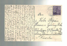 1941 Brennei B&M Postcard Cover to Germany Linz Donau Concentration Camp KZ