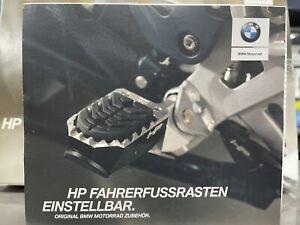 BMW R1200 1250 GS HP Foot Rider Rests