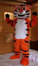 NEW Professinal Happy Tiger Mascot Costume Fancy Dress Adult Size