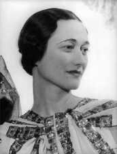 Wallis Simpson in 1930 - 8x10 photo