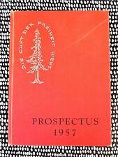 1957 YEARBOOK STANFORD GRADUATE SCHOOL OF BUSINESS w/ JOHN MORGRIDGE of Cisco