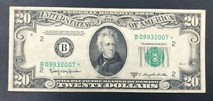 1950 D $20 Federal Reserve STAR Note - STAR