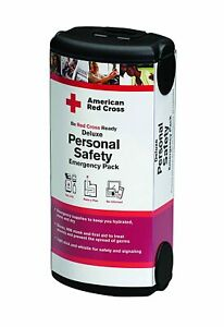 American Red Cross Deluxe Personal Safety Emergency Pack-INCLUDES Mask!