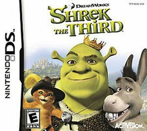Shrek the Third RAND NEW factory sealed for Nintendo DS system