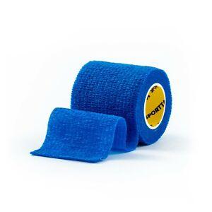SPORTTAPE Cohesive Elastic Bandage, Self-Adhesive Vet & Sock Wrap (Single Roll)