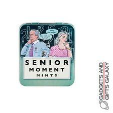 SENIOR MOMENT TIN OF MINTS Adults gifts toys games and gadgets