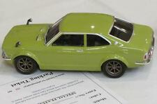 Old Photo.  Lime Green 1972 Toyota Corolla Levin model car