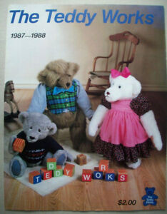 The Teddy Works Catalog 1987 1988 80's