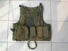 Green Combat Tactical Soft Bullet proof vest IIIA NIJ0101.06 Size:M