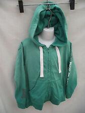 BNWT Sz 8 Boys Green Target Brand Phys Ed Long Sleeve Zip Front Hoodie Jacket