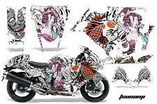 Graphic Kit Suzuki GSXR Amr Racing 1300 Hayabusa Parts Bike Decal Wrap TSUNAMI W