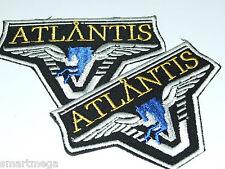 Stargate SG-1/Atlantis Team Patch - Set mit 2 Bestickt Zum Aufbügeln Flicken