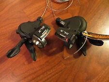 SHIMANO SLX SL M660 10 SPEED TRIPLE  3x10 RAPID FIRE TRIGGER 22.2 SHIFTER SET