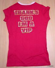 Hollywood Milano T-shirt 100% Originale Fucsia Vip New!