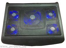 "Jumbo Notebook Kühler Cooler Cooling Pad Laptop Lüfter für 14-15-16-17-19"" Zoll"