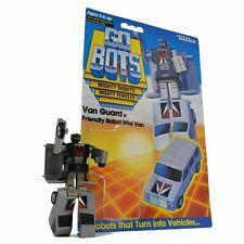 "Vintage TONKA GOBOTS ""VAN GUARD"" #51 Friendly Robot MINI VAN + Orig. CARD-BACK!!"