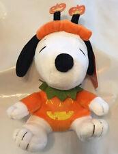 "Peanuts Snoopy in Halloween Pumpkin Costume 8"" Plush - Hallmark NEW"