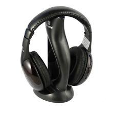Cuffia TV Wireless Senza Filo Radio FM Controlli Volume Brani 33570
