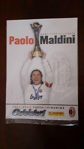 ALBUM CALCIO PANINI con 24 figurine PAOLO MALDINI (MILAN) edizione speciale 2009
