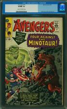 Avengers #17 CGC 9.0 -- 1965 -- Hulk. Minotaur. Kirby. #0102965020