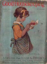 1928 Good Housekeeping February Jessie Willcox Smith; Rose O'Neill;Dean Cornwell