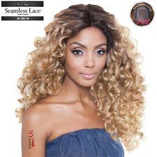 ISIS Brown Sugar Human Hair Blend Seamless Lace Front Wig - BS505 VIENNA