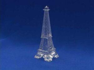 """Crystal Eiffel Tower - Small - Lead Chrystal Replica- 3"""""""