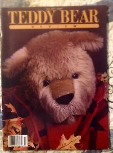 VINTAGE TEDDY BEAR REVIEW FALL 1987 MAGAZINE