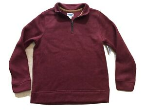 Old Navy Kids Boys Sweater Pull Over Dark Red Size L (10-12)