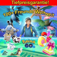 Pokemon Go 100+ Freunde ⚔ Fern Raids 🎁 täglich Geschenke 🌊 shiny plus regional