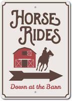Horse Rides Sign, Horse Barn Decor, Horse Barn Sign ENSA1003107