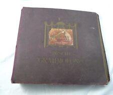 LOTTO ALBUM DISCHI 78 GIRI LA VOCE DEL PADRONE GRAMMOFONO 14 LP