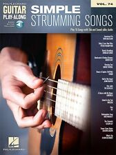 Guitar Play-Along Simple Strumming Songs Learn to TAB MUSIC BOOK ONLINE AUDIO