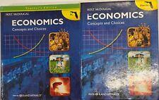High School Economics Student Teacher Edition Homeschool Bundle Curriculum