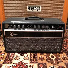 Vintage 1960s Selmer Treble N Bass 50 Reverb Valve Guitar Amplifier Head