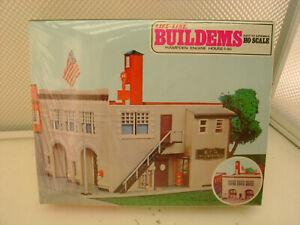 LIFE-LIKE HO SCALE HAMPDEN FIRE HOUSE #46 MODEL KIT #01390 NEW IN SEALED BOX