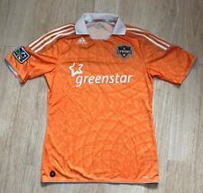 VINTAGE ADIDAS HOUSTON DYNAMO MLS SOCCER TEAM JERSEY SIZE MEDIUM
