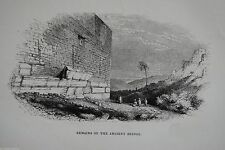Originaldrucke (1800-1899) aus Asien mit Landschafts-Motiv